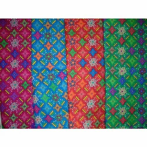 Indian Block Lifestyle Printed Cotton Fabric