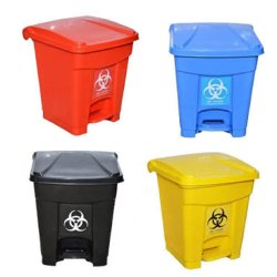 16 L Bio Medical Waste Bins