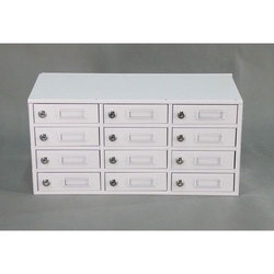 Jap Enterprises Metal Locker with 12 drawers