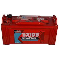 Lead Acid Exide Invaplus Batteries, Warranty: 2 years, 12 V