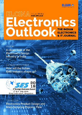 Elcina Electronics Monthly Magazine in Okhla Industrial Estate, New
