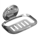 Rashi Industries Silver Ss Rectangular Soap Dish