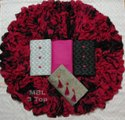 Heavy Cotton Top With Shibori Print Dupatta