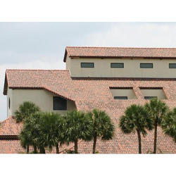 clay Profile Terracotta Roofing Tile, 10 - 12 mm, Dimensions: 470mm X 294 Mm