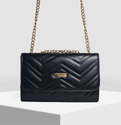 Zigzag Party Bag Black