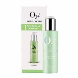 O3  Deep Concern Pore Clean Up Cleanser for Oily Skin, 120 ml