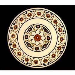 Marble Inlay Design Table Tops