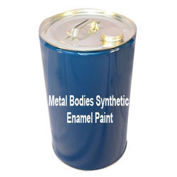 Metal Bodies Synthetic Enamel Paint, Packing: 1 L