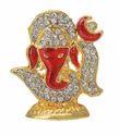Red Diamond Decorative Om Ganesh Handicrafts