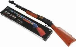 Black Plastic AK-818 Gun Toy
