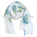 Floral Hand Painted Scarves