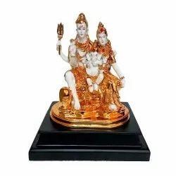 Home Decorated Shiv Parivar Statue