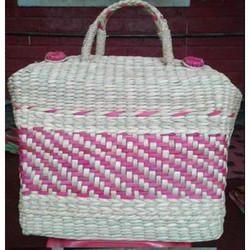 Bamboo Fancy Handicraft Picnic Bag