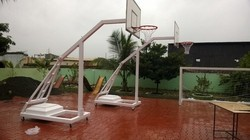 Movable Basketball Post