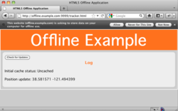Offline Application