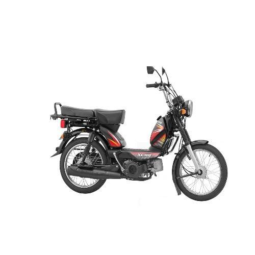 TVS XL 100 Black Moped - View Specifications & Details of Tvs Bike