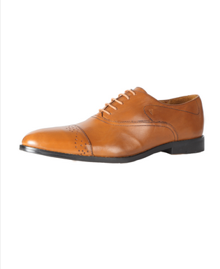 Van Heusen Tan Lace Up Shoes VHMMS00744