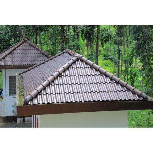 Dotted Red Roofing Tile At Rs 45 Square Feet Clay Roof