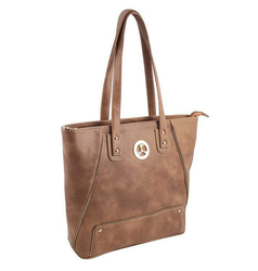 Beige Color Casual Bags