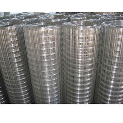 Polished Mild Steel Welded Wire Mesh, 2x2, Material Grade: MS 307