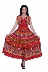 Jaipuri Cotton Printed Dress