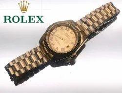 Round Analog Rolex Ladies Watches