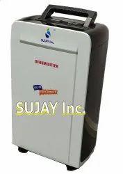 Black And White SUJAY Portable Dehumidifier, 11x7x20 Inch, 10