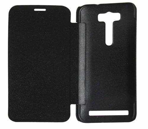 outlet store sale 1b65c 4815b Flip Cover For Asus Zenfone 2 laser 5.5 ZE550KL Black