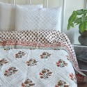 Block Printed Quilts