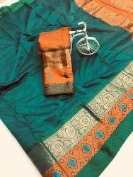 Casual Wear Border Saree