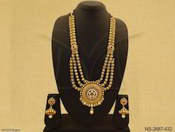 Bridal Antique Necklace Set Jewellery