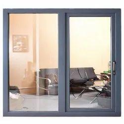 Finished Powder Coated 2 Way Aluminium Sliding Window