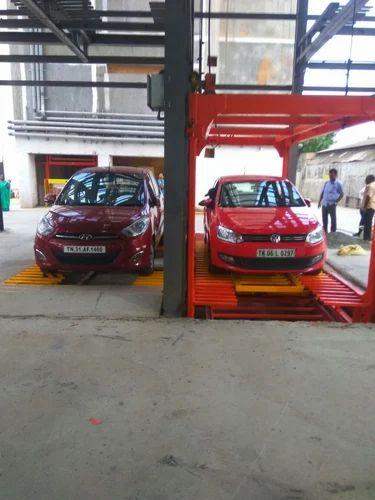 Car Lift Parking System ऑट म ट क क र प र क ग