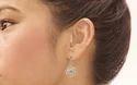 Cheryl Blossom Brass Drop Earring