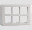 White 12m Cover Frame