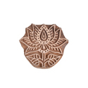 Wooden Lotus Pattern Printing Blocks