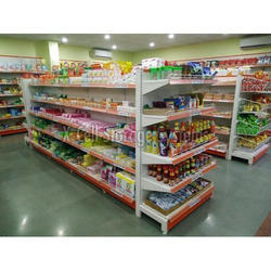 Grocery Display Rack