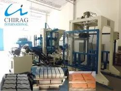 Chirag Multi Speed Vibration Block Making Machine
