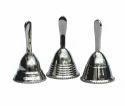 Chromed Brass Hand Bells