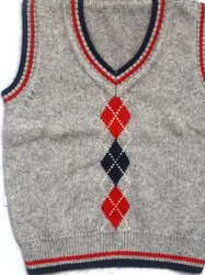 Customise  School Jacquard Sweater