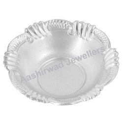 Fancy Silver Bowl With Hallmark