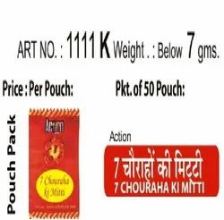 ACTION 7 CHOURAHA KI MITTI, Packaging Type: Pouch, for PUJAN