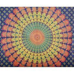Wall Cotton Mandala Tapestry