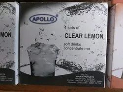 Clear Lemon Soft Drink