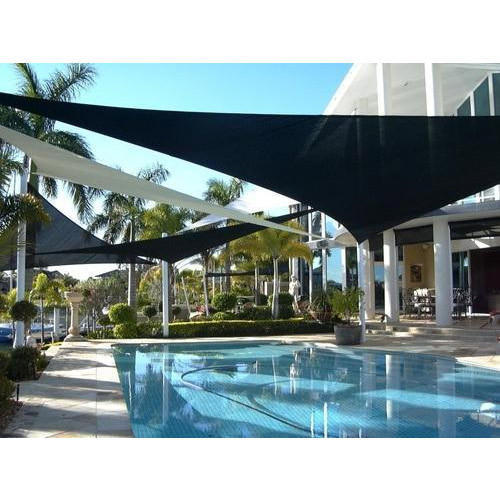 Swimming Pool Shade Sails, Shape: Triangle | ID: 17992338148