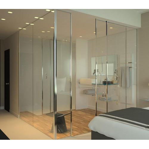 Bathroom Partition Plain Glass At Rs 48 Square Feet Transparent Beauteous Bathroom Partition