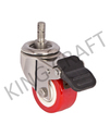 Stainless Steel Die Pressed Swivel Caster