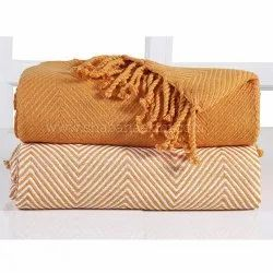 Bed Blanket Cotton Comfortable Cotton Throw Blankets