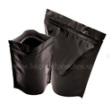 Shiny Black Stand Up Pouches