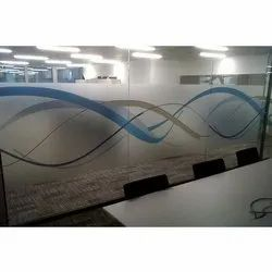 PVC Designer Glass Film, Packaging Size: 50 Meter Per Roll